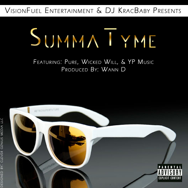 """Summa Tyme"" CD Cover"