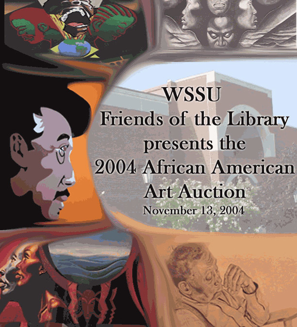 WSSU Art Auction Program Cover